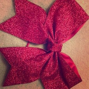 Super cute and eye catching competitive cheer bow